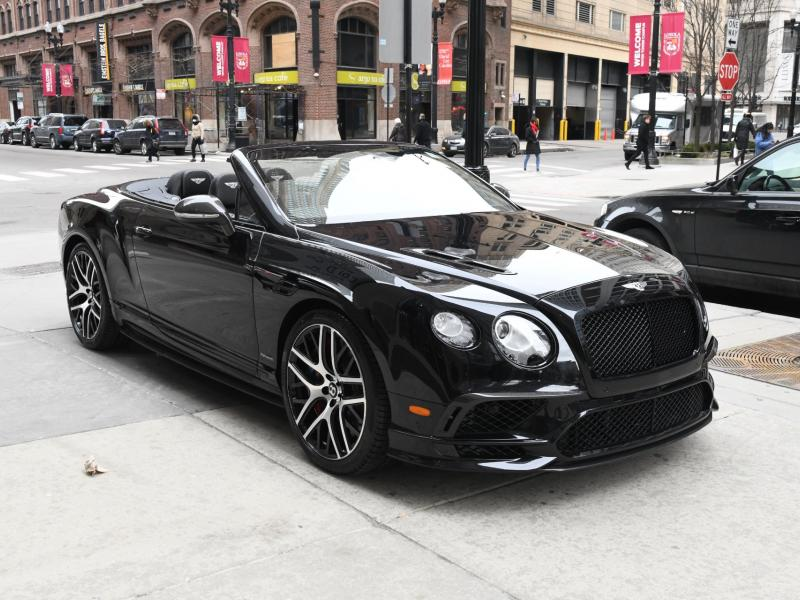 Used 2018 Bentley Continental Supersports Convertible Supersports | Gurnee, IL