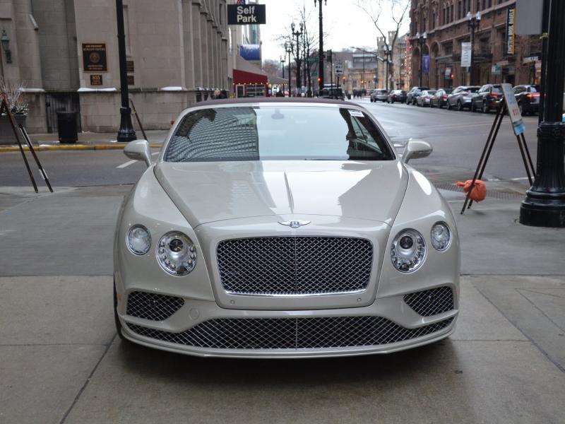 New 2016 Bentley Continental GTC Speed    Gurnee, IL