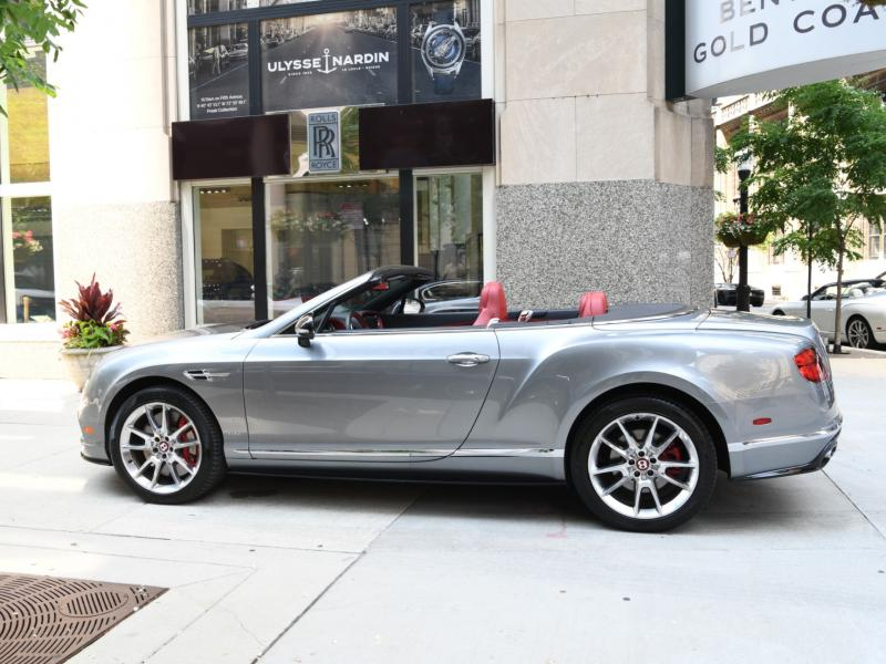 Used 2017 Bentley Continental GT V8 Convertible GTC V8 S | Gurnee, IL