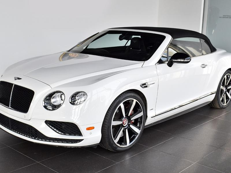 Used 2016 Bentley Continental GT V8 S Convertible GT V8 S   Gurnee, IL