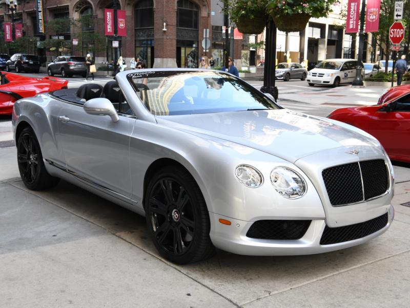 Used 2013 Bentley continental GTC Convertible GT V8 | Gurnee, IL