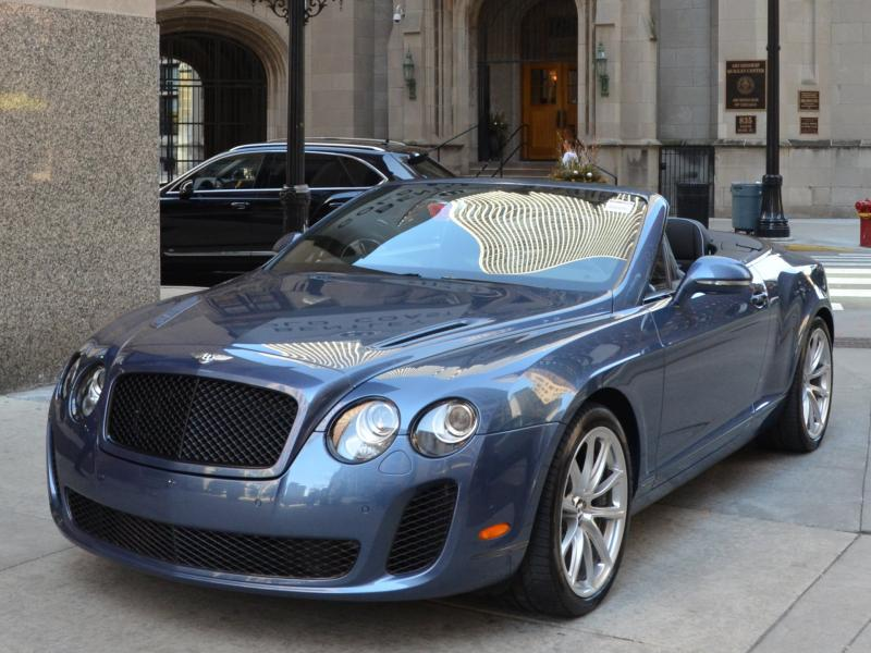 2011 Bentley Continental Supersports Convertible Stock Gc